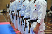 JKA black belt dogi unifrom